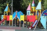 Дитячі майданчики, будиночки, мотузкові парки