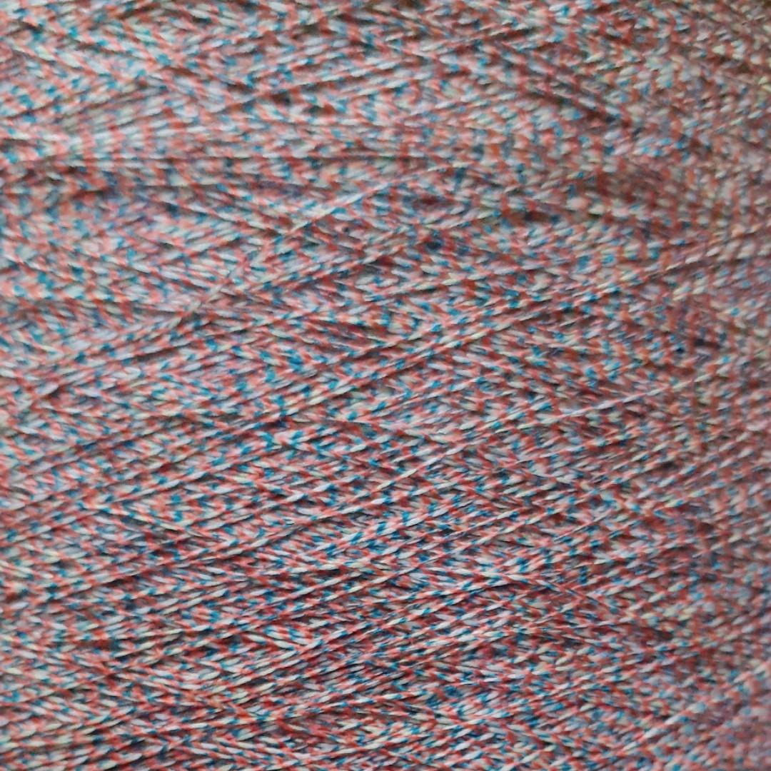 HKA 5386 - 63%дралон, 37% шелк бобинная пряжа для машинного и ручного вязания