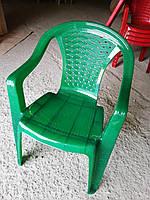Стул пластиковое Люкс, кресло, фото 1