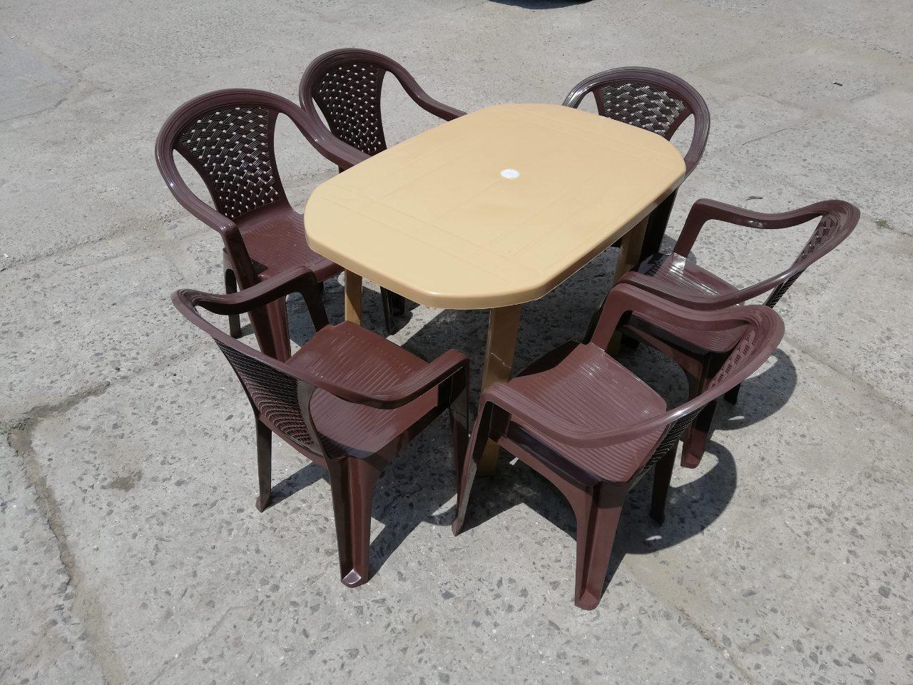 """Комплект садовой мебели """"Верона""""! Стол большой + 6 кресел!"""