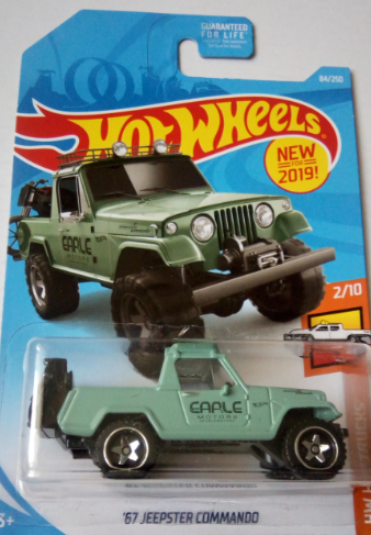 Машинка Hot Wheels 2019 '67 Jeepster Commando