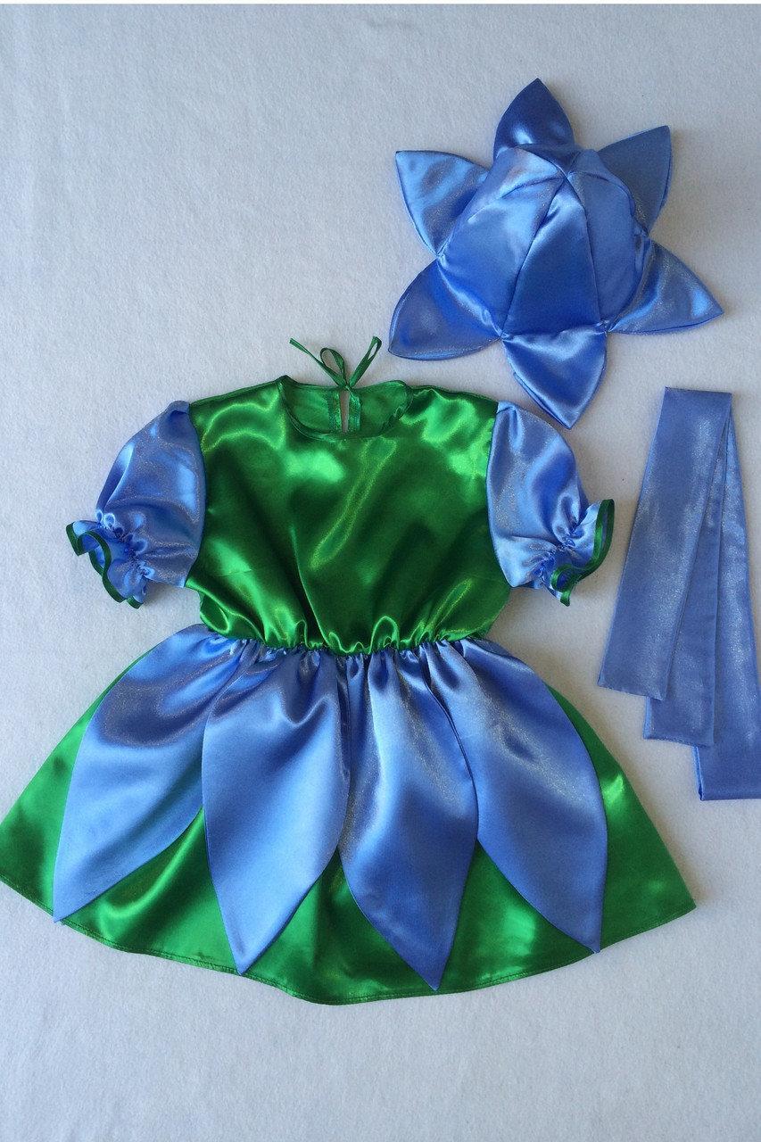 Детский карнавальный костюм BonitaПролесок (девочка) 105 - 120 см Голубой