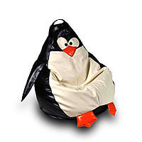 Детское кресло мешок Пингвин