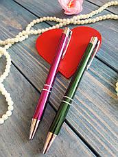 Ручка с гравировкой в футляре на подарок друзьям, фото 3