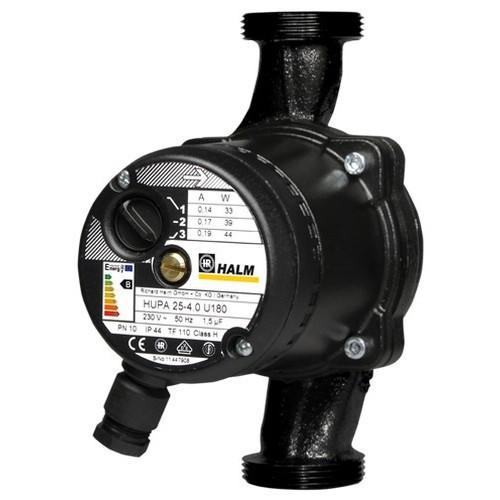 Насос HALM HUPA 20-6.0 U130 циркуляционный (Черный)