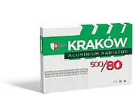 Радиатор KRAKOW 500x80 (500/76) Алюминиевый, фото 1
