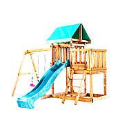 Babygarden с балконом и горкой 2.4м детская игровая площадка от производителя, низкие цены, опт/розница