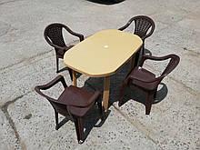 """Комплект садовой мебели """"Верона""""! Стол большой + 4 кресла!"""