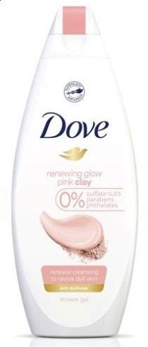 Крем-гель для душа Dove с розовой глиной (250мл.)