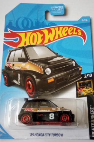 Машинка Hot Wheels 2019 '85 Honda City Turbo II