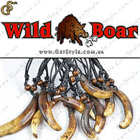 "Украшение на шею Клык Кабана - ""Wild Boar"" - оберег от сглаза!, фото 1"