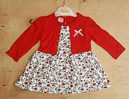 Детское платье для девочек 3-12 мес, Турция, оптом
