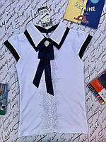 Белая нарядная блузка, фото 1