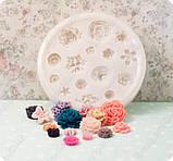 Молд на 15 различных цветков, фото 3