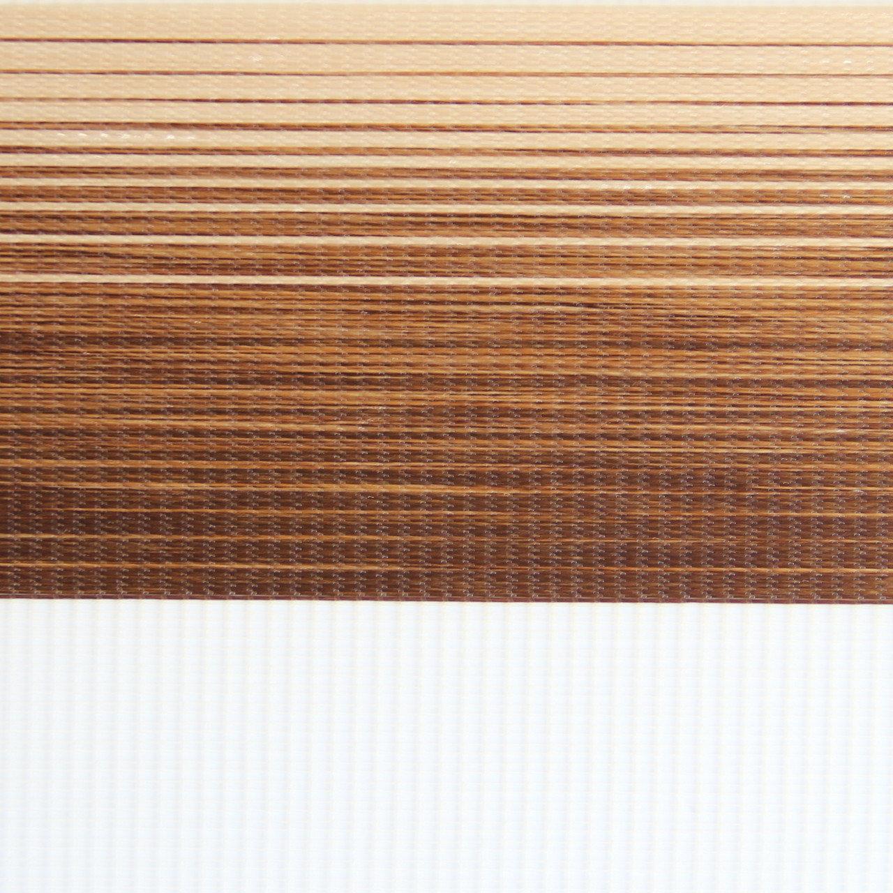 Готовые рулонные шторы Ткань Z-132 Коричневый