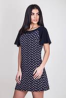 Красивое платье с коротким рукавом с принтом бантики.Разные цвета., фото 1