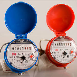 Счетчики для водо-, газо-, теплообеспечения (бытовые)