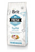 Brit Fresh Fish with Pumpkin Adult Large Muscles & Joints для взрослых собак крупных пород (рыба) 2,5 кг