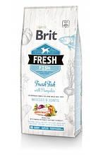 Brit Fresh Fish with Pumpkin Adult Large Muscles & Joints для взрослых собак крупных пород (рыба) 12кг