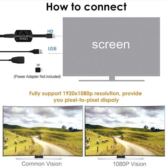 Беспроводной WiFi MiraScreen Chromecast приемник Robotsky G4 для трансляции экрана (Screen Mirroring) Google cast
