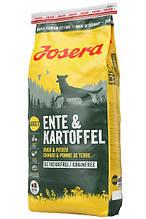Josera Dog Ente & Kartoffel для взрослых собак всех пород (утка и картофель) 15 кг