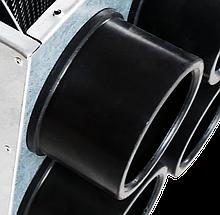 Патрубок для подключения к пленуму 75мм NavyFlex