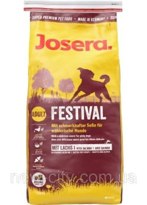 Josera Dog Festival (Йозера Дог Фестивал) для привередливых собак (лосось и рис) 15 кг