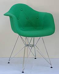 Кресло Onder Mebli Леон Софт CH-ML Шерсть Зеленый W-17