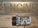 Компрессор кондиционера Honda CRV 2 2001-2006 38810PNB006 HS110R, фото 4