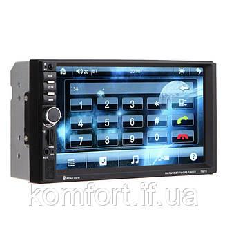 Автомагнитола 7018 сенсорный экран + gps 2Din, фото 2