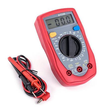Мультиметр тестер вольтметр амперметр DT UT33D, фото 2
