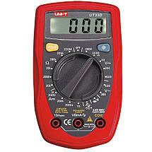 Мультиметр тестер вольтметр амперметр DT UT33D, фото 3
