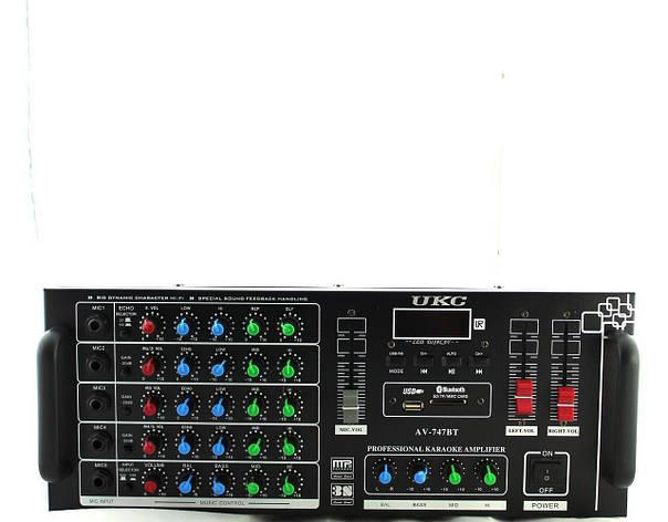 Усилитель звуковой AMP 747+BT, фото 2