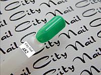 Зеленый гель лак 482 (мятный, бирюзовый) 10мл