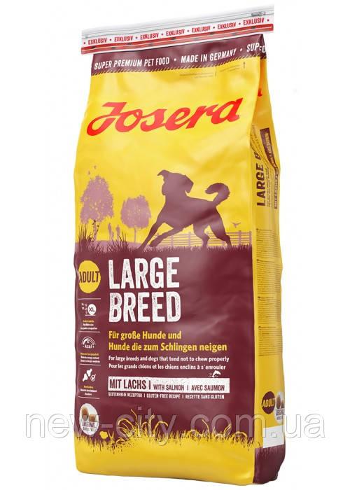 Josera Dog Large Breed 26/14 для взрослых собак крупных пород (птица) 15 кг