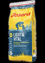 Josera Dog Light & Vital 29/7,5 для взрослых собак с лишним весом 15 кг