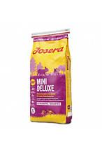 Josera Dog MiniDeluxe 25/17 для взрослых собак мелких пород с чувствительным пищеварением (ягненок) 15 кг