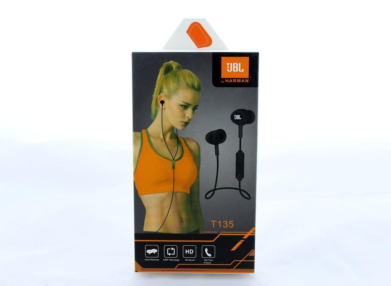 Наушники MDR JBL T135, Вакуумные наушники с микрофоном, Наушники гарнитура