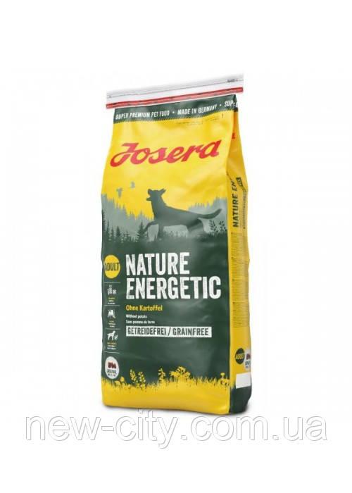 Josera Dog Nature Energetic корм для взрослых активных собак средних и крупных пород (птица) 15 кг