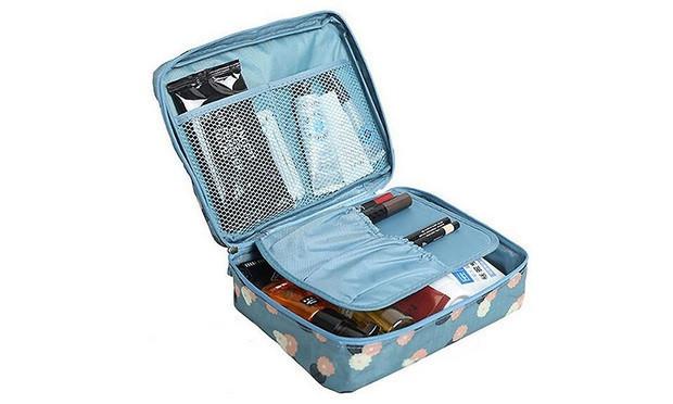 Косметичка органайзер Travel Wash Admission Package Синий