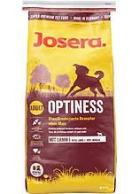 Josera Dog Optiness (Йозера Дог Оптинес) корм для собак средних и крупных пород низкопротеиновый 15 кг