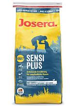 Josera Dog SensiPlus Adult для взрослых собак склонных к аллергии, проблемах с пищеварением (утка и рис) 15 кг