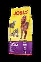 Josera JosiDog Adult Sensitive 25/13 корм для взрослых собак всех пород, чувствительным пищеварением 18 кг