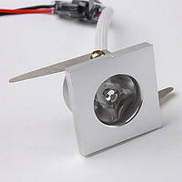 Точечный светодиодный светильник LED 1w DL-C115, фото 1