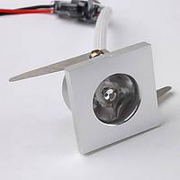 Точечный светодиодный светильник LED 1w DL-C115