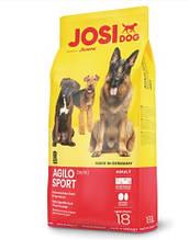 Josera JosiDog Agilo Sport 26/16 сухой корм для взрослых собак всех пород с высокой физической нагрузкой 18 кг