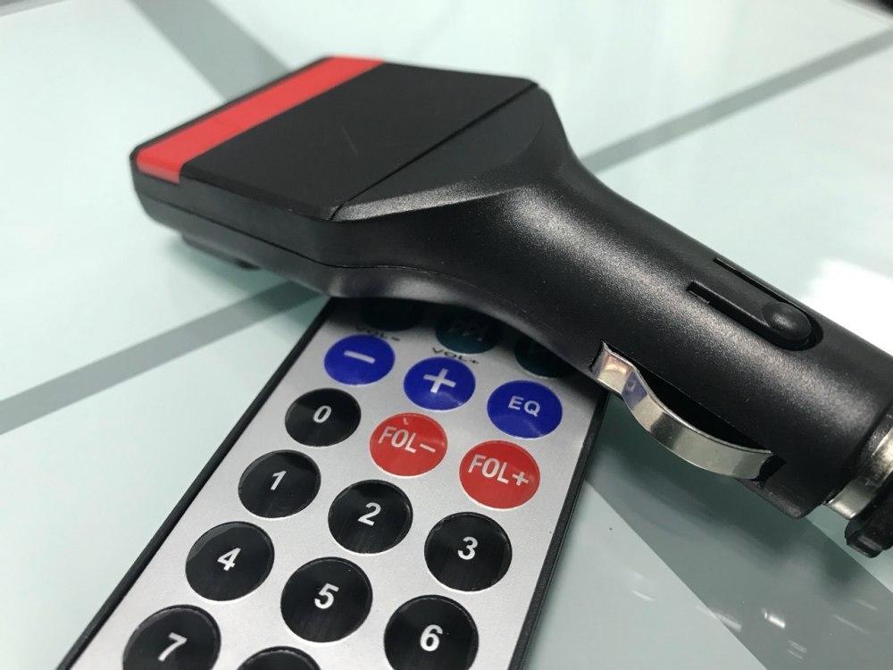 Трансмитер FM MOD. Fm 04, Модулятор SD/ММС card, Автомобильный модулятор, ФМ трансмиттер в авто