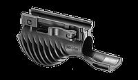 Рукоятка передняя с креплением для фонаря FAB, картофель, черная   — (MIKI1)