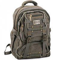 Мягкий тканевой рюкзак Goldbe арт. 98208Khaki