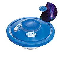 Плавающий фонтан для бассейна Bestway 58493 «Световое Шоу» с LED подсветкой. Работает от аккумулятора